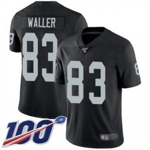 Raiders Darren Waller 100th Season Jersey